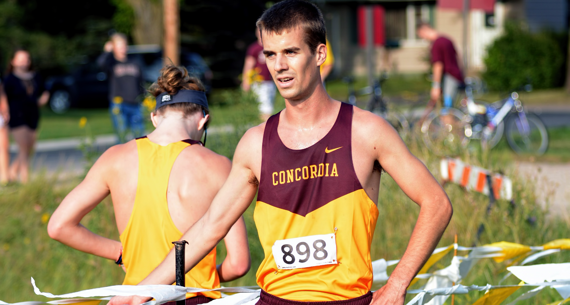 Senior Matthew Lillehaugen was the top Cobber finisher at the MSUM Twilgith Meet as he ran a 20:01.0 and placed 23rd.