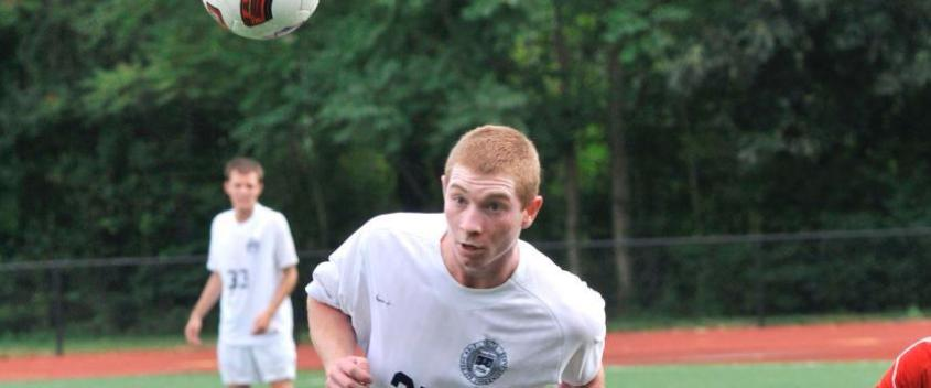 #20 men push season-opening win streak to seven with 1-0 win at Lasell