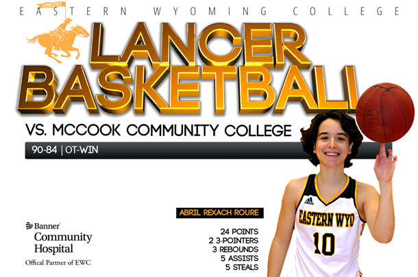 Eastern Wyoming College Lady Lancer Basketball vs. McCook Community College