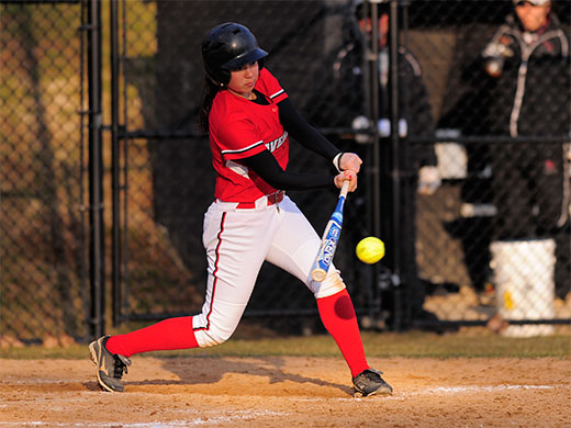 Softball advances to day 2 of Centennial tournament