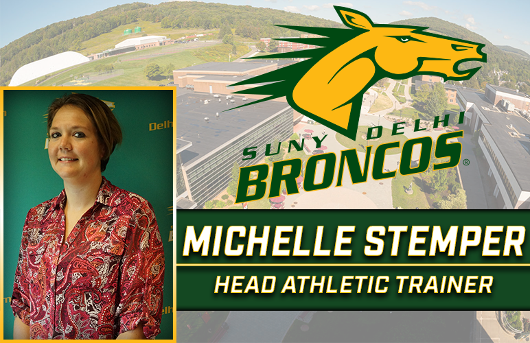 Michelle Stemper Joins Staff as Head Athletic Trainer