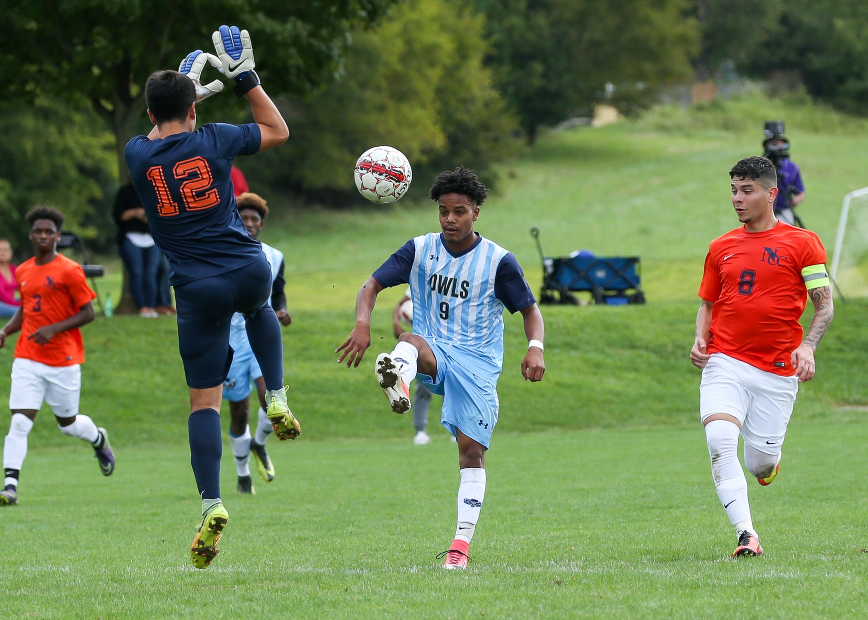 Prince George's Men's Soccer Makes 2017 Home Debut Against Harford On Tuesday Night