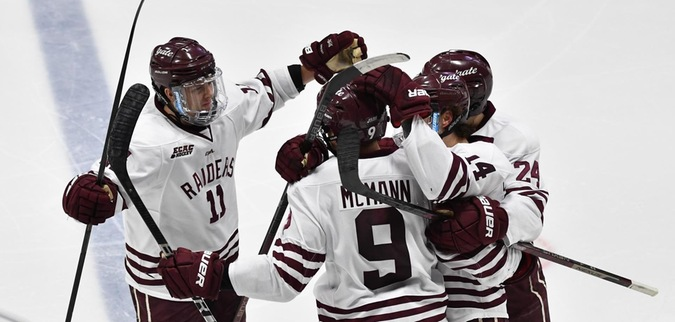 Colgate Seals Weekend Sweep with Win at Princeton