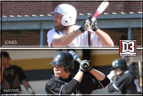 Jones of Trinity; Maxwell of Birmingham-Southern selected D3baseball.com All-Americans