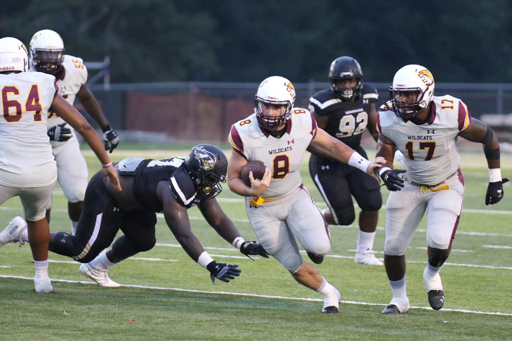 Pearl River stumbles at East Central