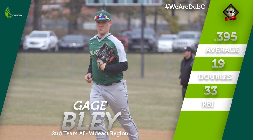 Bley Named to ABCA/Rawlings Second Team All-Mideast Region Team