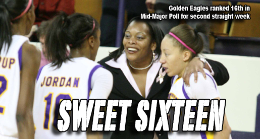 Golden Eagles remain steady at 16th in Mid-Major Poll