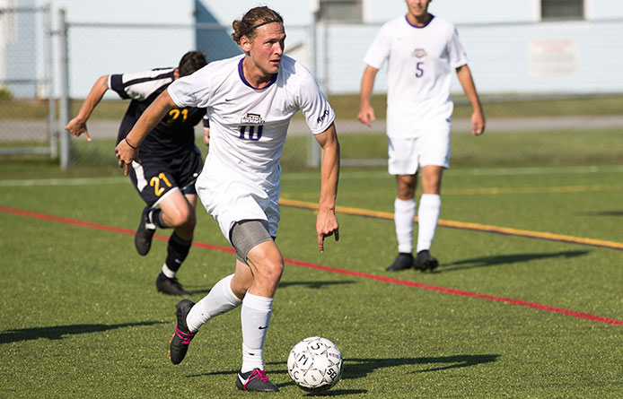 Men's Soccer Suffers 2-1 Loss to Nationally-Regarded Southern Connecticut State