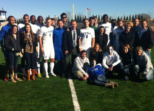 CCSU Stunned By Bryant on Senior Day