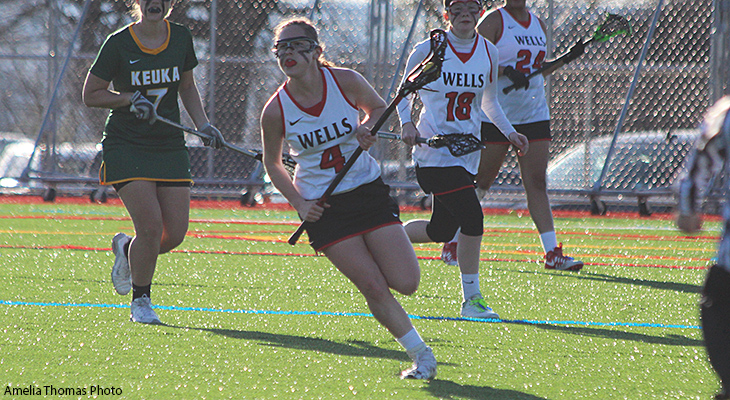 Women's Lacrosse Falls In OT Against Keuka