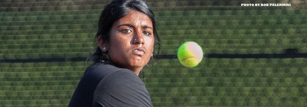SUBBIAH TAKES DOWN NO. 15 PLAYER IN THE WEST OXY LOSES FIRST SCIAC MATCH