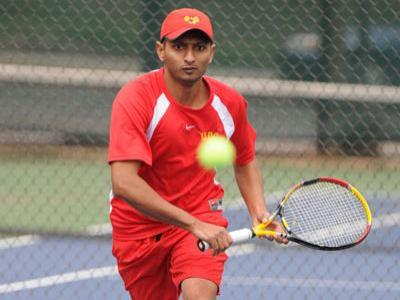 Former men's tennis player Lalindra Jayatilleke received an academic excellence honor at the SEAS Award Night.