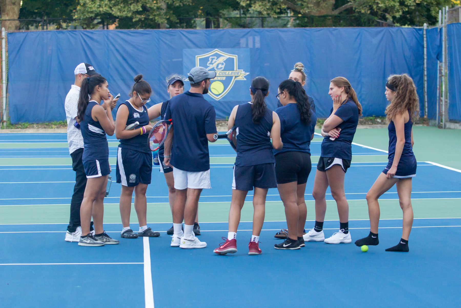 Women's Tennis Drops Season Finale on the Road to Mount Saint Mary