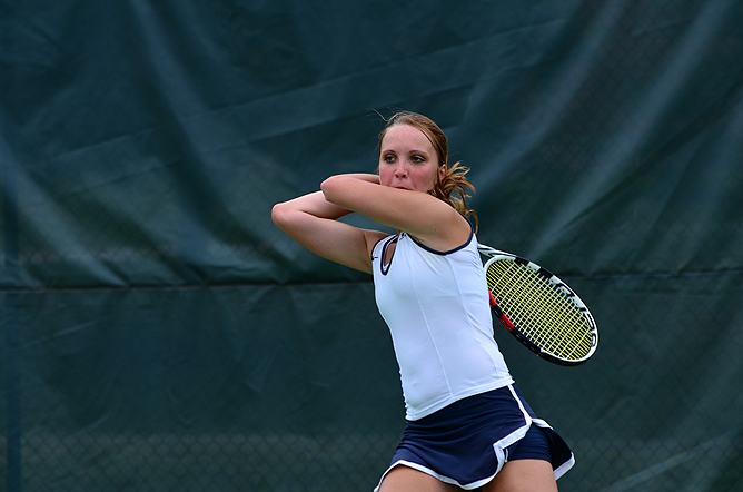 Women's Tennis Captures AMCC Championship