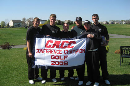 POST CLAIMS THIRD STRAIGHT CACC GOLF CHAMPIONSHIP