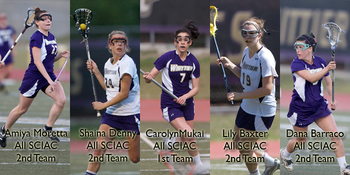 Five Poets named to All-SCIAC Team