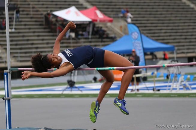File Photo: Darlena Robinson qualified for the SoCal Championships in the high jump
