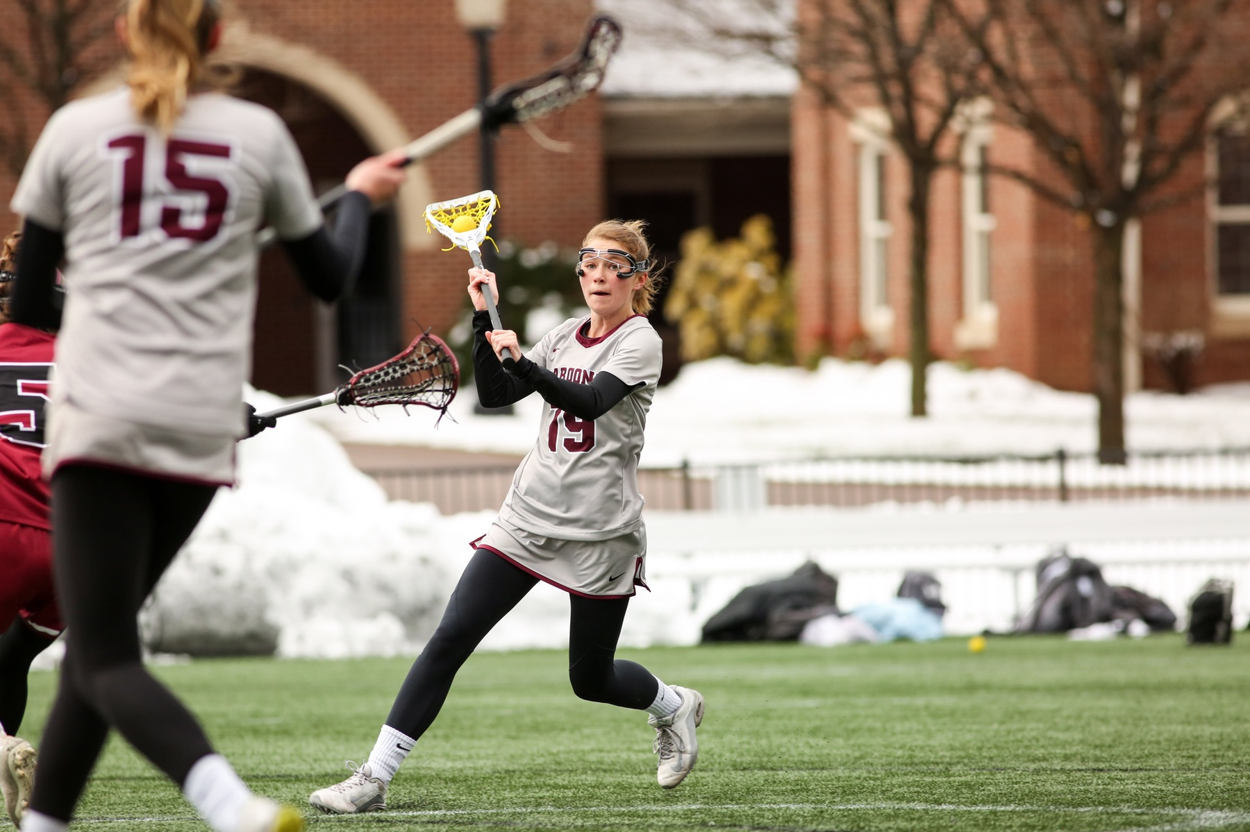 LC Clips RC Women's Lacrosse in ODAC Qtrs.