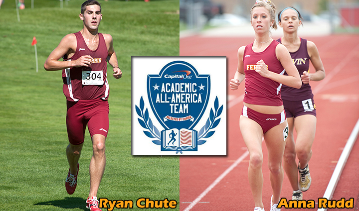Chute, Rudd Claim Capital One Academic All-District Track/CC Accolades