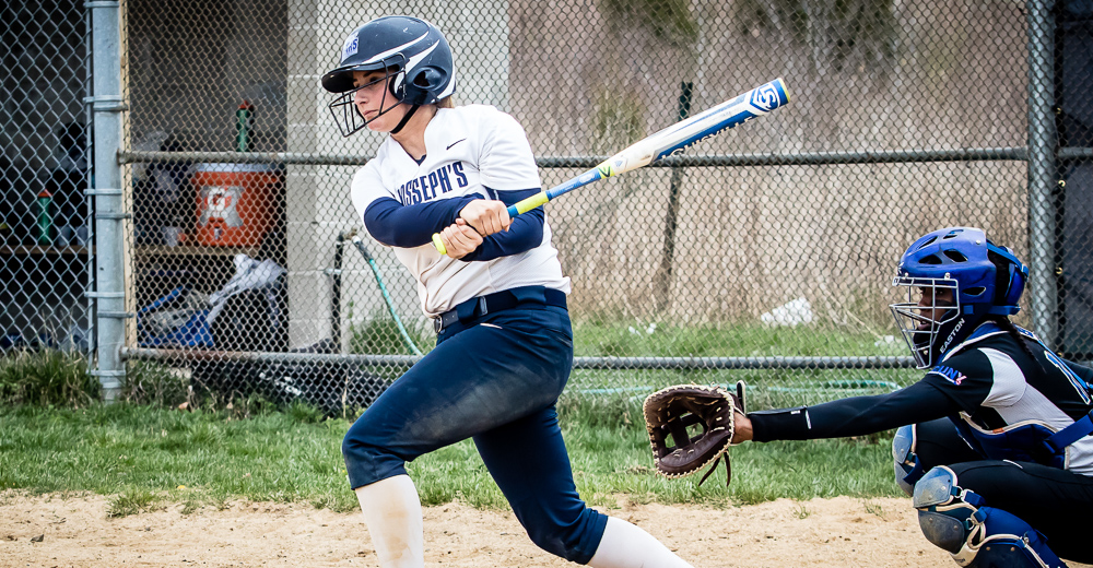 Senior Samantha Simon became the 16th Bear—and third active player—to knock 100 hits.