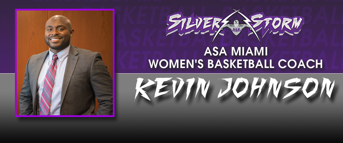 ASA Miami Announces New Women's Basketball Coach Kevin Johnson