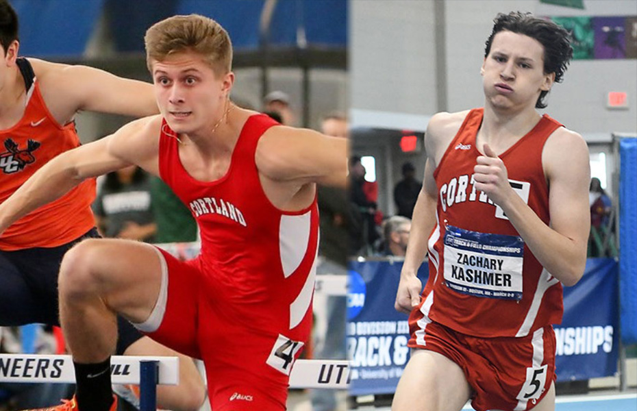 DiVittorio and Kashmer honored with PrestoSports Men's Indoor Track & Field weekly awards