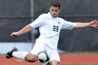 Keuchkarian strike gives men's soccer 1-0 win over Clark in home opener