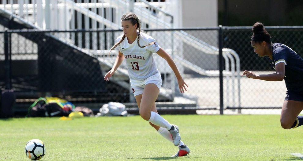 Bay Area Showdown Between No. 7 Women's Soccer and No. 1 Stanford Set for Sunday