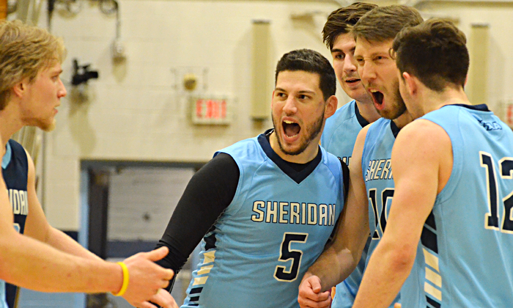 Men's volleyball fall to division-leading Fanshawe