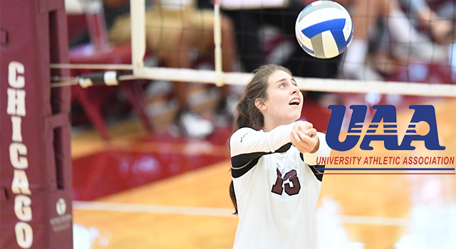 Chicago Hosting Second Volleyball Round Robin; Maroons Enter Undefeated in UAA Play