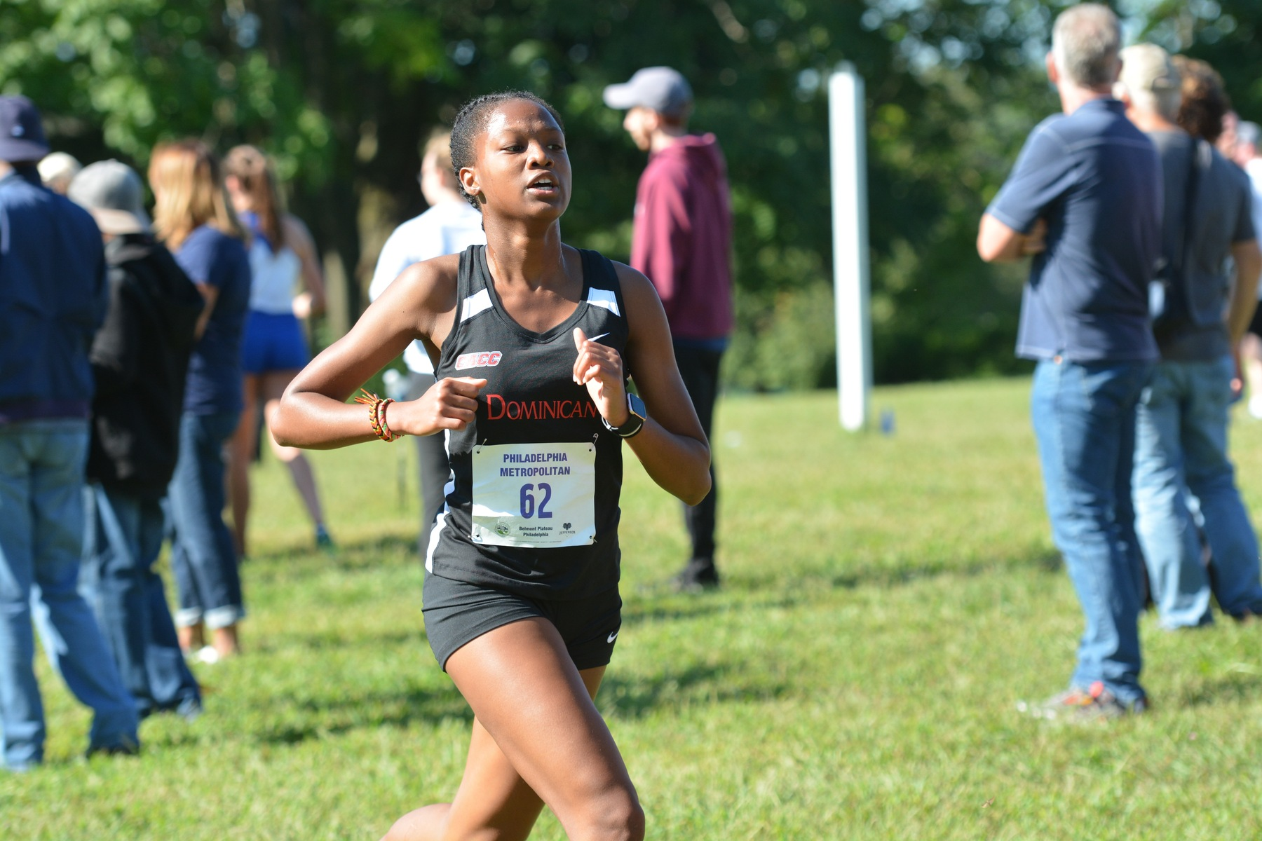 WOMEN'S CROSS COUNTRY COMPETE AT PHILLY METRO CHAMPIONSHIP
