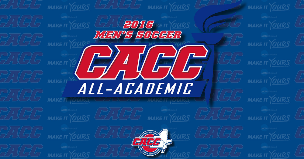 Three Warriors Named to CACC Men's Soccer All-Academic Team