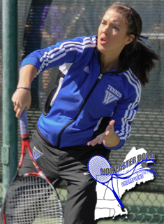 Blue Tennis falls to #28 Mary Washington in Nor'easter Bowl