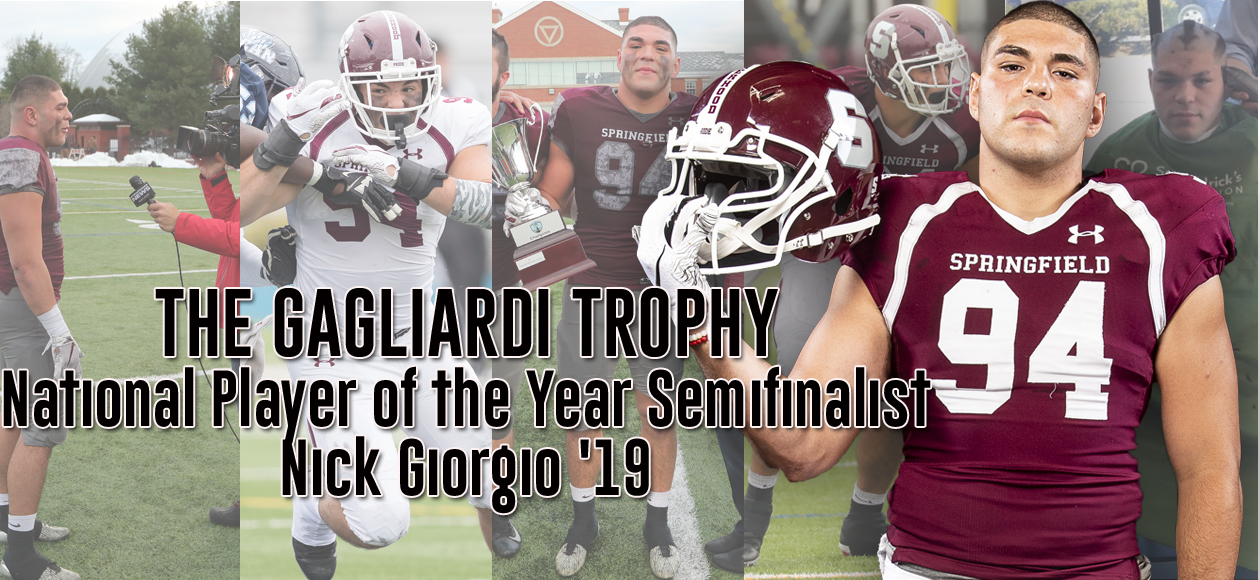 Giorgio Chosen As One Of 13 Semifinalists For Gagliardi National Player of the Year Trophy