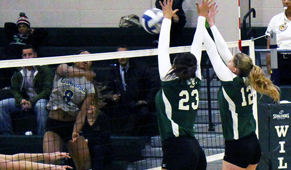 Wilmington Volleyball Clinches Home Playoff Game with 3-1 Win Over Concordia
