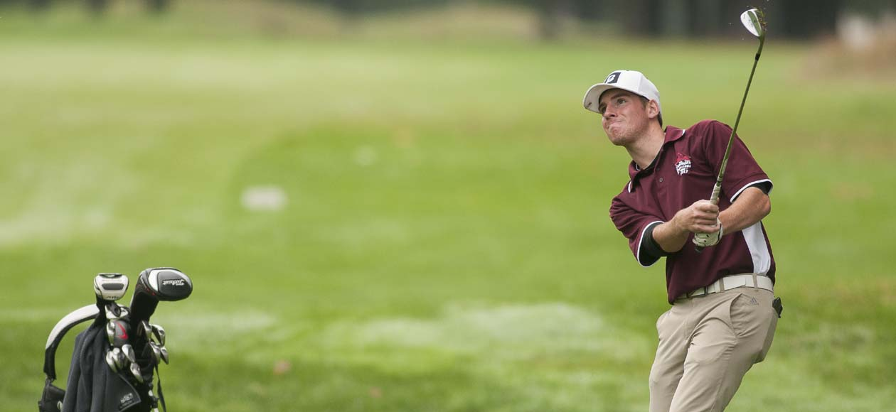 Golf Tied For 12th After Opening Round of NEIGA Championships
