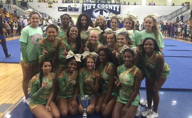 Varsity Competition Squad Captures 1st Place in Tifton