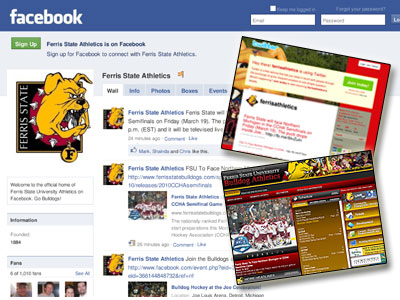 FSU Athletics Facebook Page Leads The GLIAC