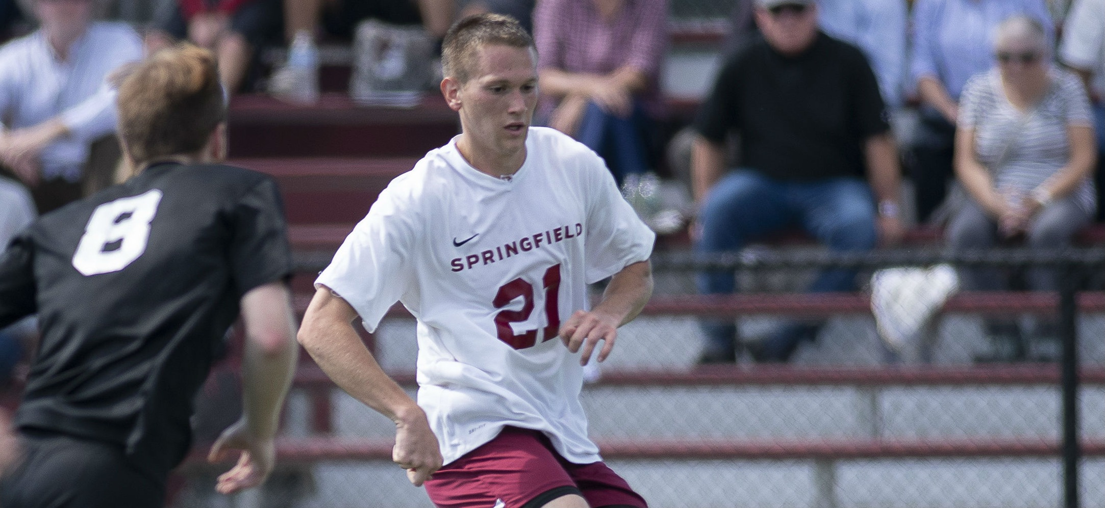 Two Second-Half Goals Lifts Men's Soccer Past Emerson, 3-1