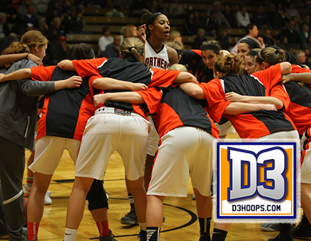 Women's Basketball ranked 10th for the second consecutive week in the D3hoops.com Women's Top 25 Poll