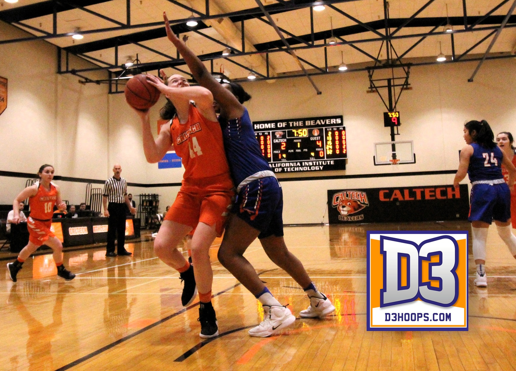 Eiden Makes D3Hoops All-Region Third Team