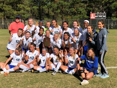 Women's soccer team wins Southeast District title, punches ticket to National Tournament