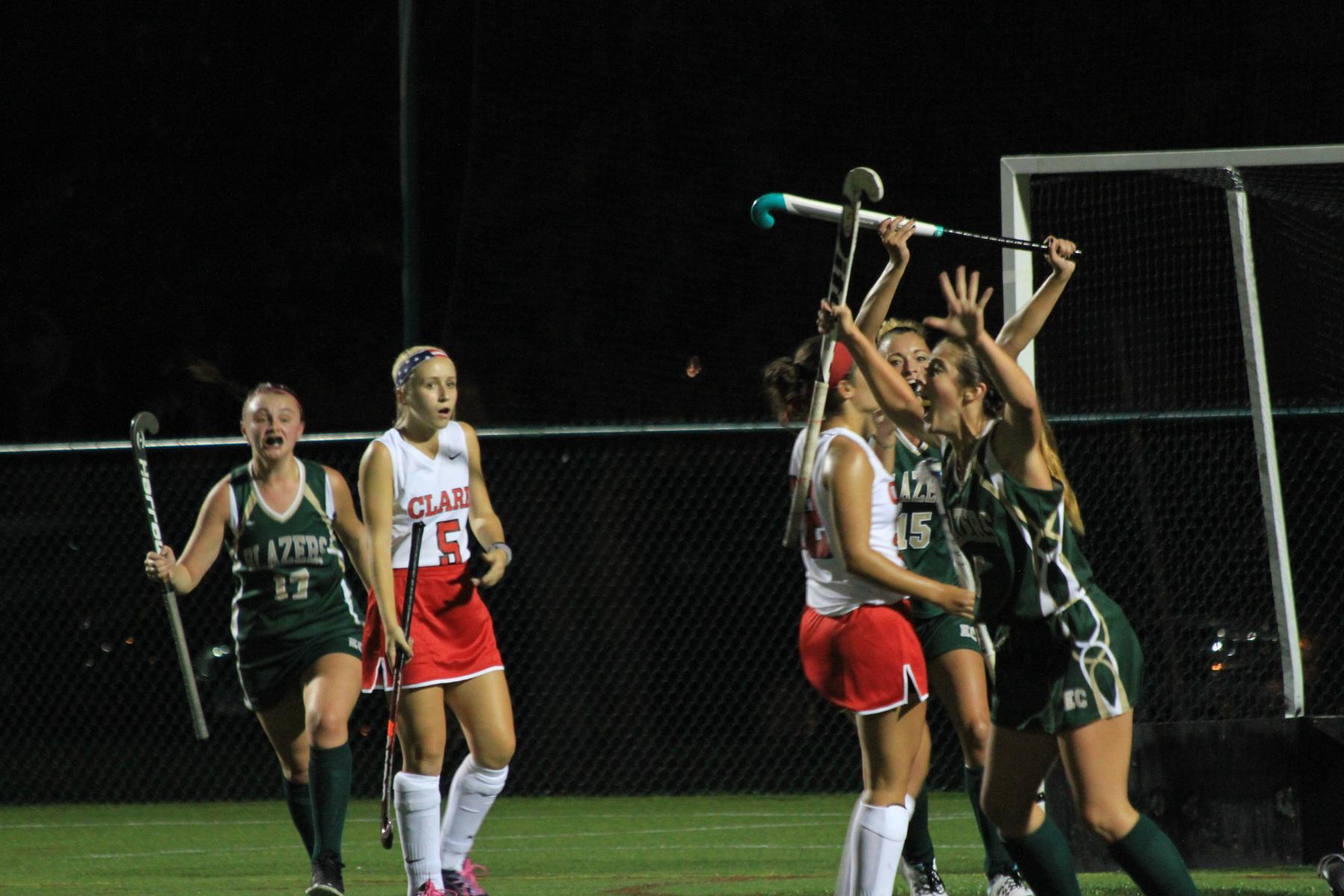 Late Goal Lifts Field Hockey Past Clark