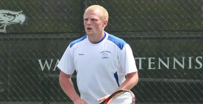 Men's Tennis cruises to victory over Hartwick College