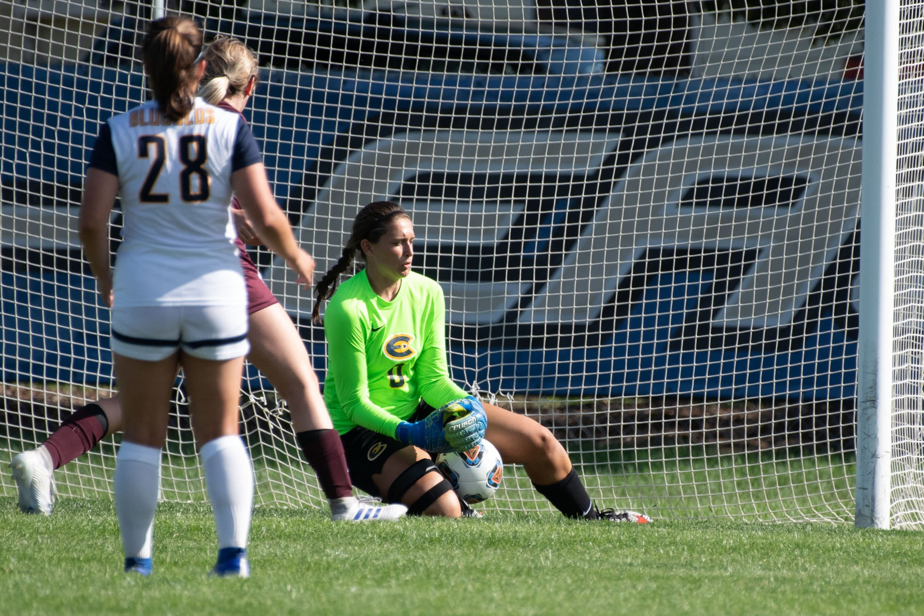 Women's Soccer records eighth shutout of the season with 2-0 win over Falcons