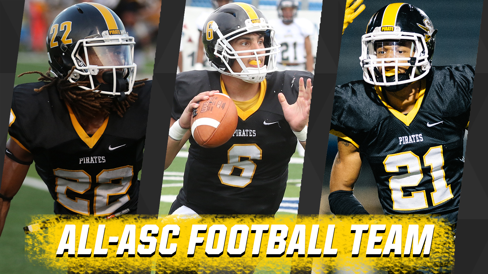 Pirates Land 14 on ASC All-Conference Team