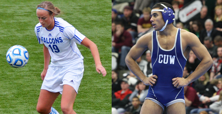 Sanders, Straehler named CUW Student-Athletes of the Year