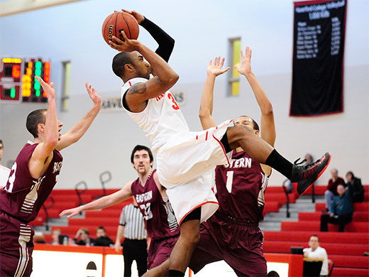 Baker's game-high 18 not enough in loss to Mules