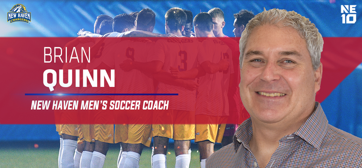 New Haven Announces Hiring of Brian Quinn as Men's Soccer Head Coach