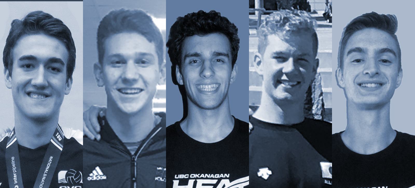 Men's volleyball bring in five highly touted recruits for 2018